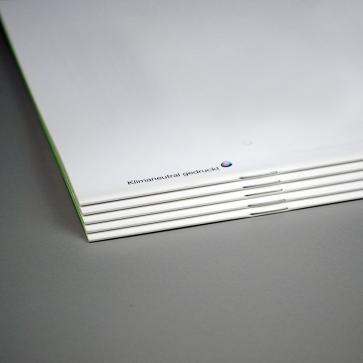 Broschüren | Klammerheftung