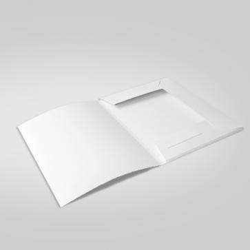 unbedruckte Mappen A4 | Modell SAFE