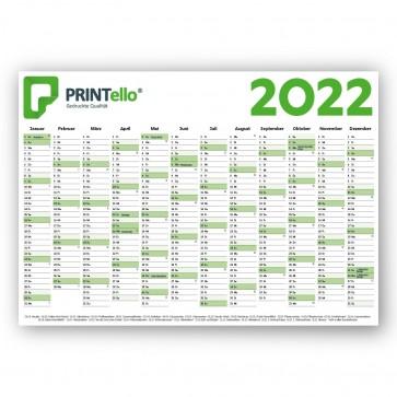 Wandplaner - Jahreskalender