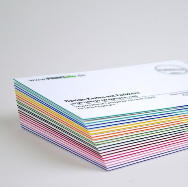 Visitenkarten Mit Farbkern Drucken Printello
