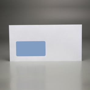 Briefkuvert DIN lang mit Fenster selbstklebend