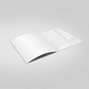 unbedruckte Mappen A4 | Modell CLASSIC
