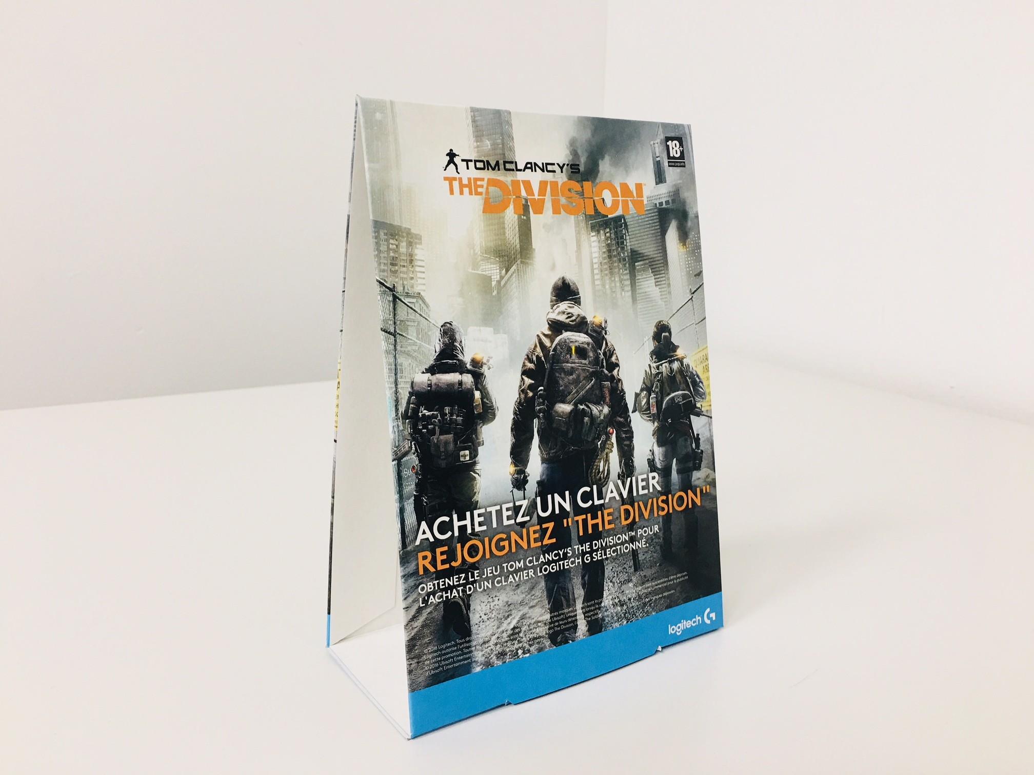 Thekenaufsteller und Dachaufsteller