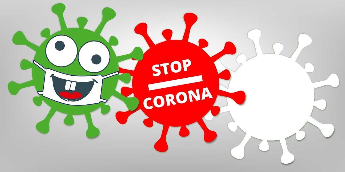 Informieren Sie Ihre Kunden über Covid-19 mit unserem formgestanzten Virus-Flyer