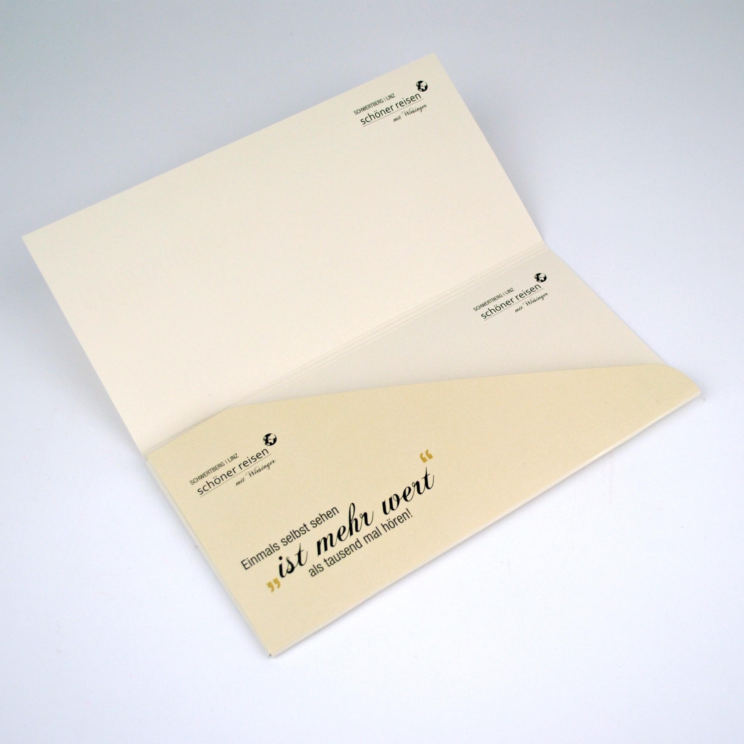 Tickettaschen und Dokumentenmappen
