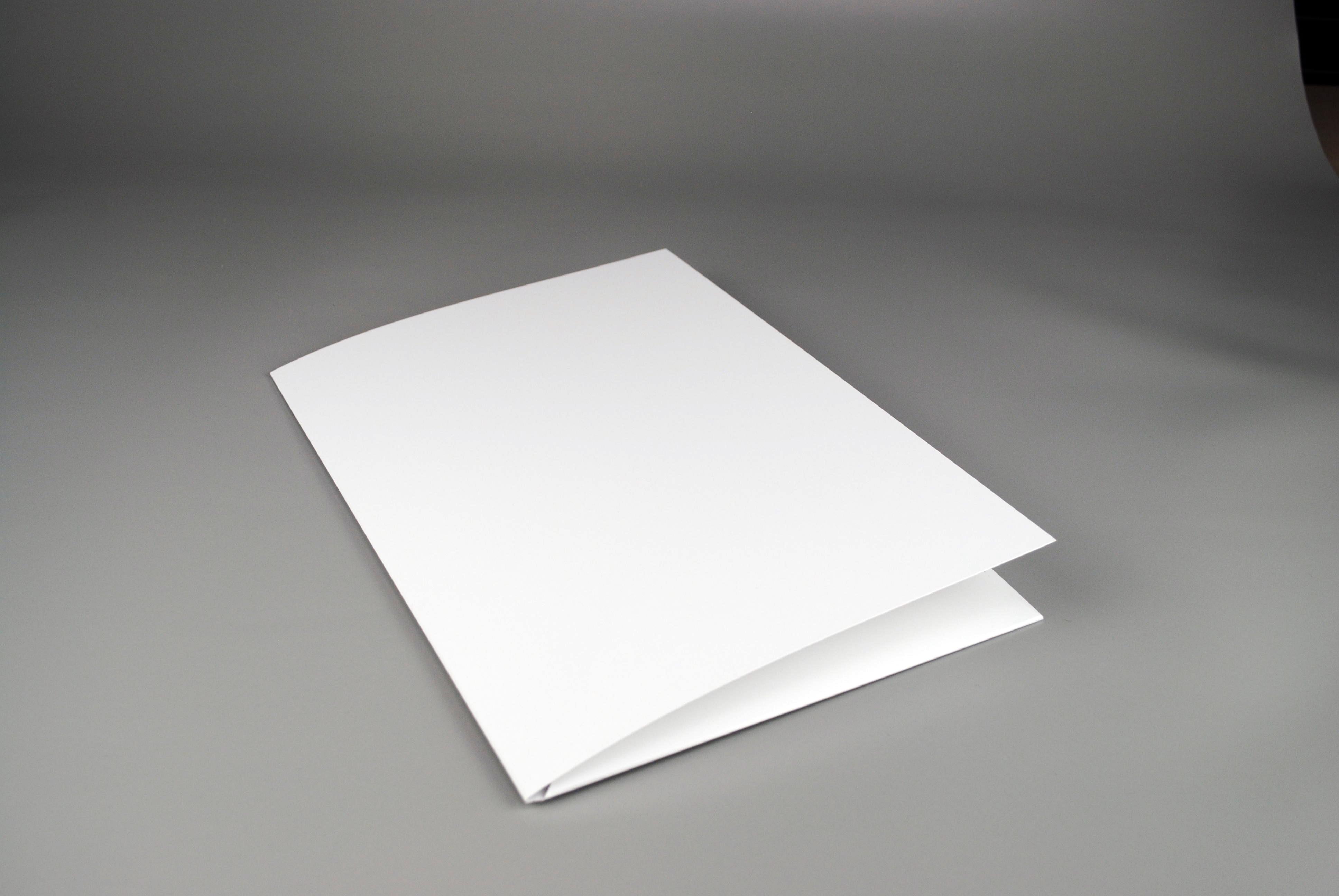 Blanko Präsentationsmappen