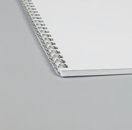 Wire-O-Broschüre