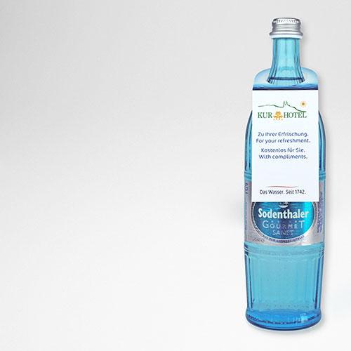 Flaschenanhänger Classic